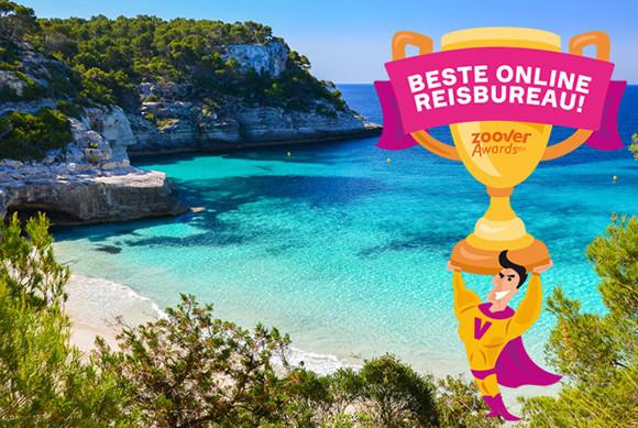 Zoover Awards 2015: beste online reisbureau