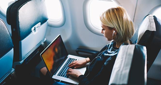 Wifi vliegtuig betalen