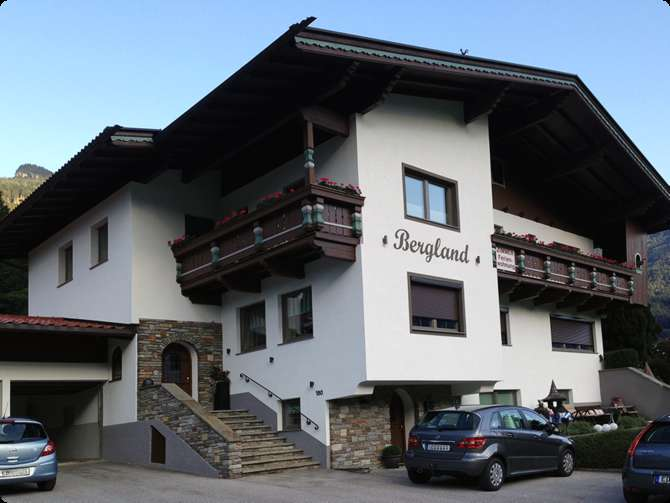 Appartementen Bergland Mayrhofen