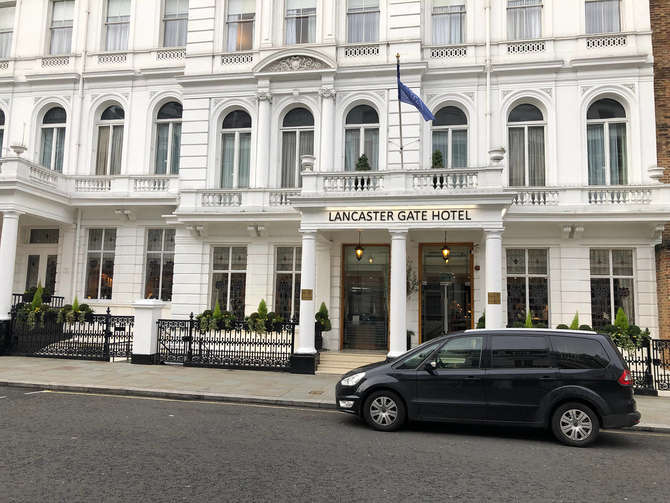 Lancaster Gate Hotel Londen
