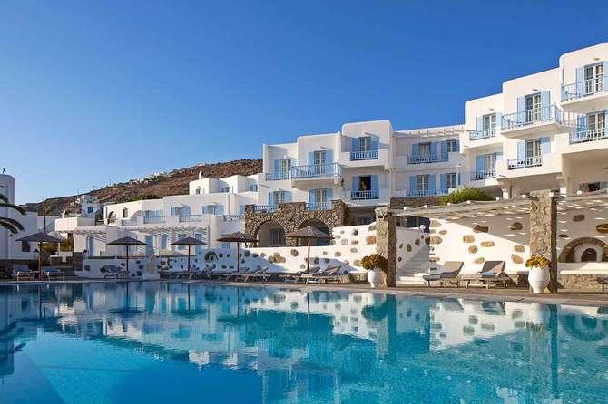 Manoulas Mykonos Beach Resort Agios Ioannis Diakoftis