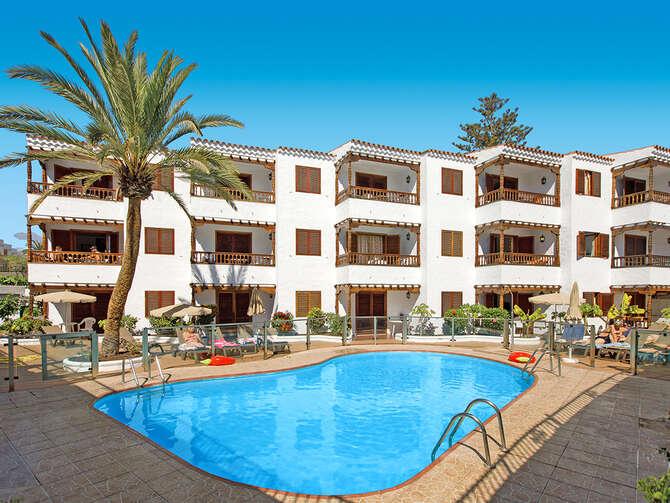 Appartementen Las Orquideas Playa del Inglés