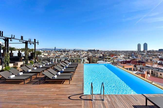 Grand Hotel Central Barcelona Barcelona