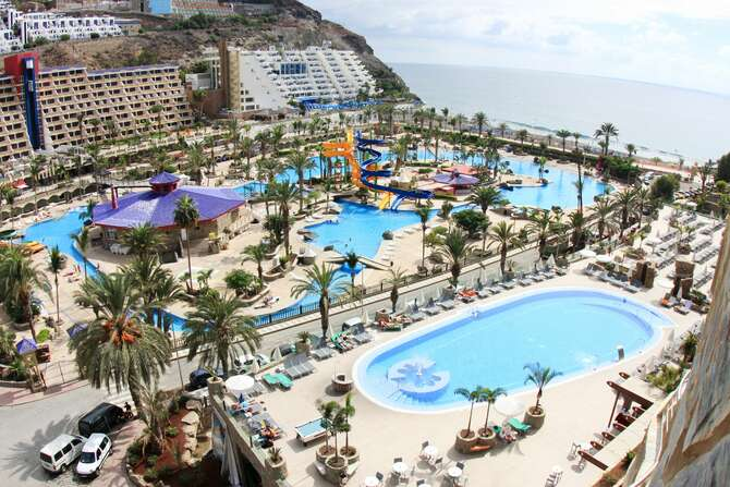 Hotel Paradise Valle Taurito Puerto Rico