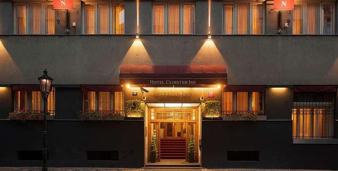 Cloister Inn Hotel Praag