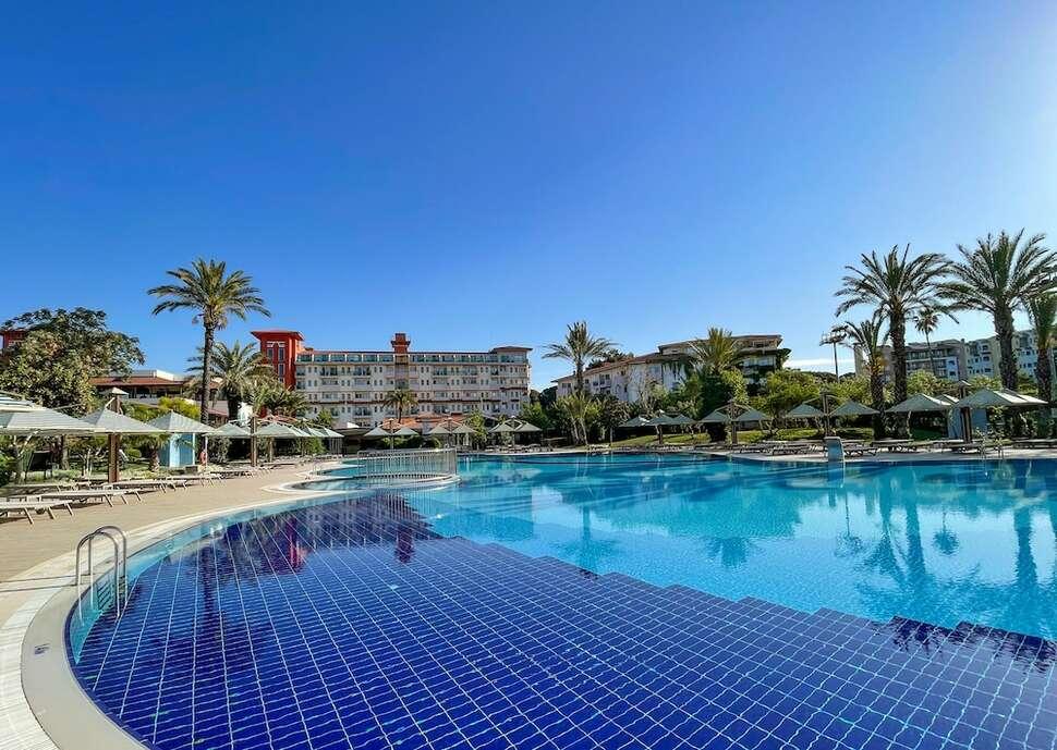 Goedkope zonvakantie Antalya 🏝️Belconti Resort Hotel