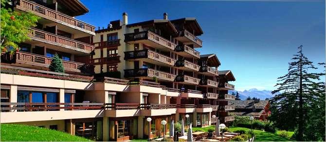 Aparthotel Helvetia Intergolf Crans Montana