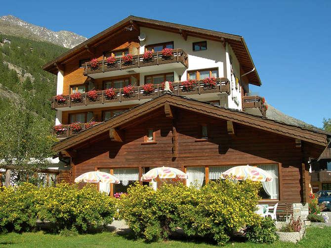Hotel Adler Saas-Grund