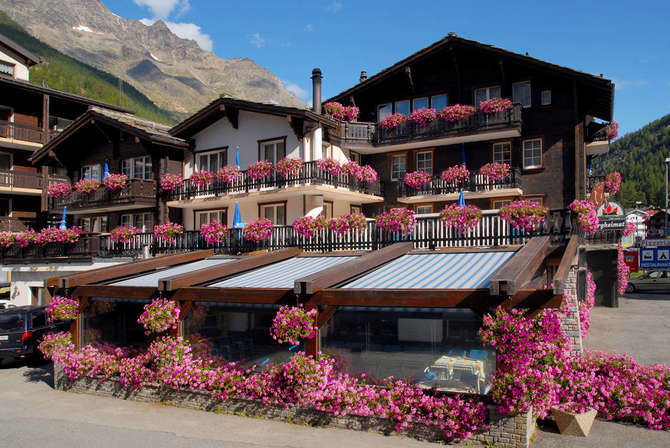Hotel Bergheimat & Moonlight Saas-Grund