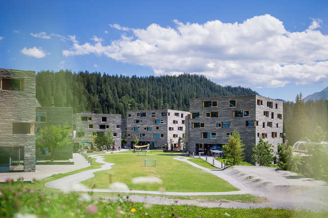Appartementen Rocksresort Laax
