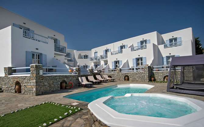 Dionysos Luxury Hotel Mykonos Ornos