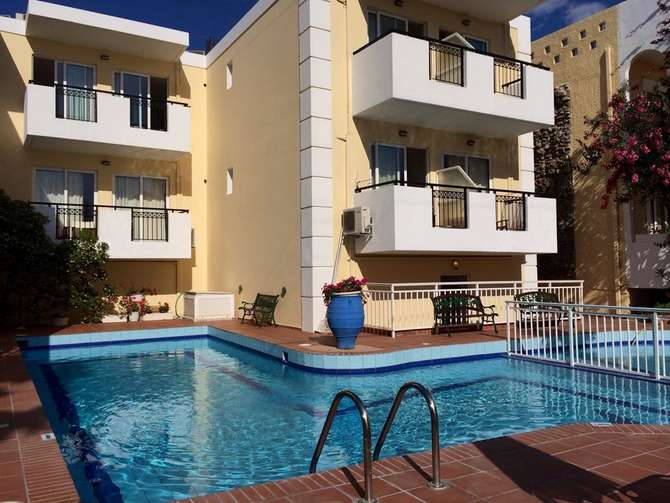 Bueno Hotel Appartementen Rethymnon