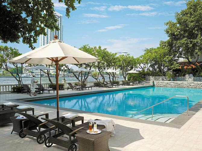 Shangri-La Hotel Bangkok, 8 dagen