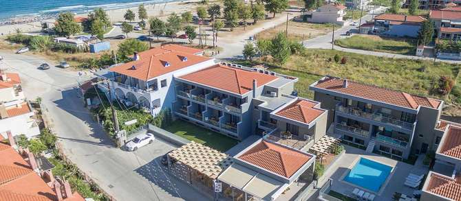 Marys Luxury Appartementen Skala Panagia (Golden Beach)