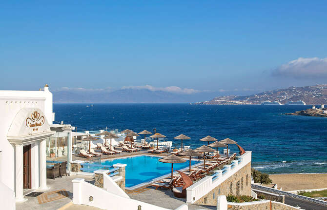 Grand Beach Hotel Mykonos-Stad