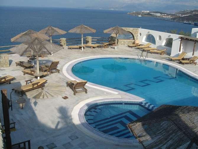 Gorgona Hotel Mykonos-Stad
