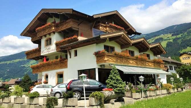Hotel-Restaurant Rosengarten Zell am Ziller