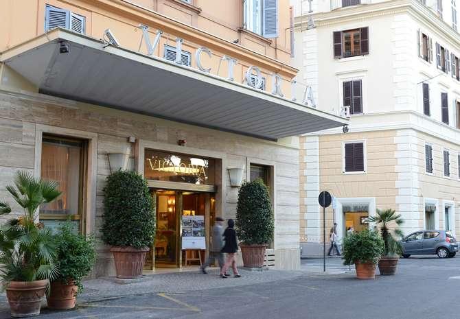 Hotel Victoria Roma Rome