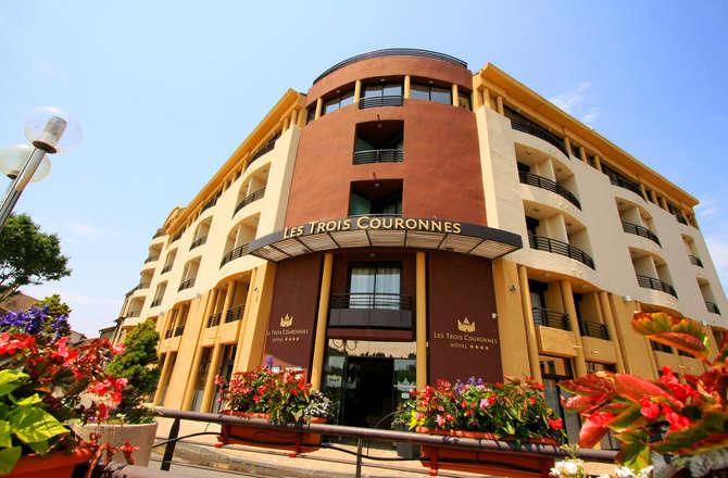 Hotel Les Trois Couronnes Carcassonne