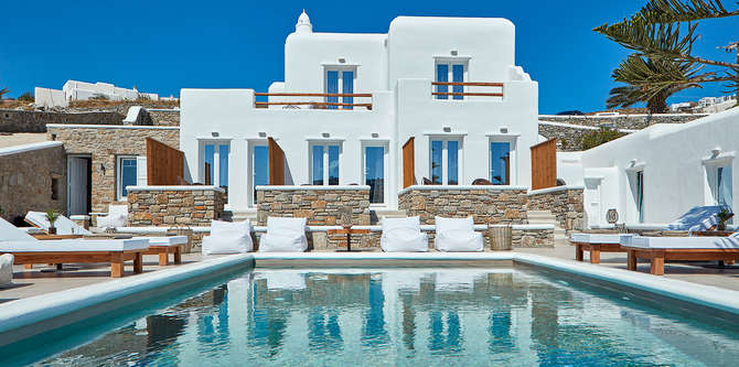 Mykonos Waves Beach House & Suites Ornos