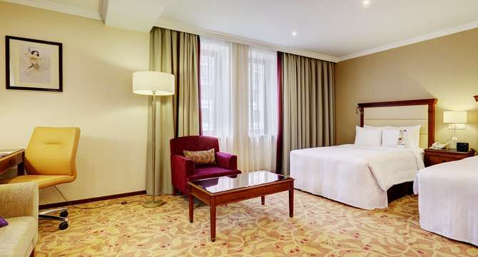 Moscow Marriott Royal Aurora Hotel Moskou