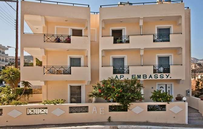 Appartementen Embassy Karpathos-Stad