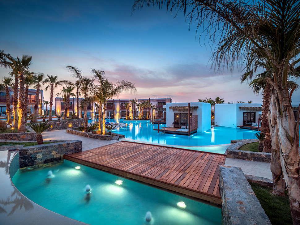 luxe resort op Kreta