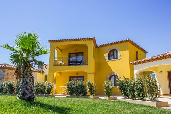 Yellow Houses San Teodoro