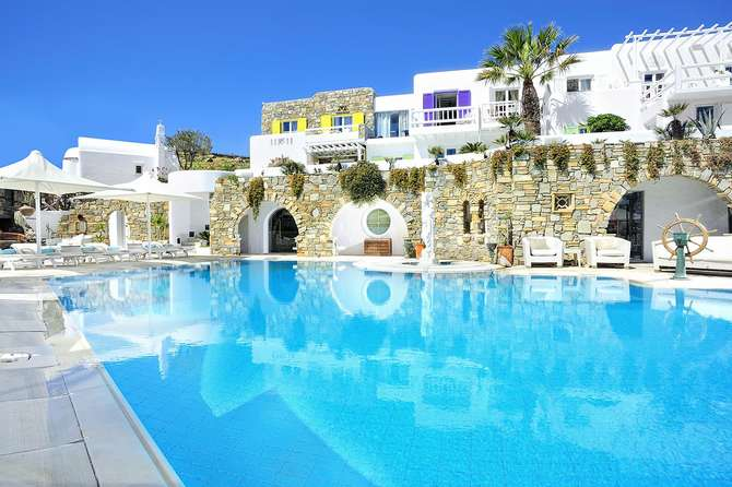 Kivotos Mykonos Luxury Boutique Hotel Ornos