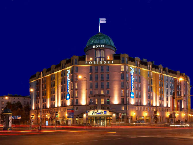 Radisson Blu Sobieski Hotel Warschau