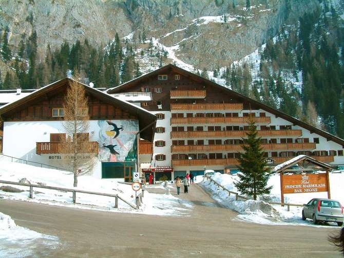 Hotel Principe Marmolada Ciamp dello Stanzon