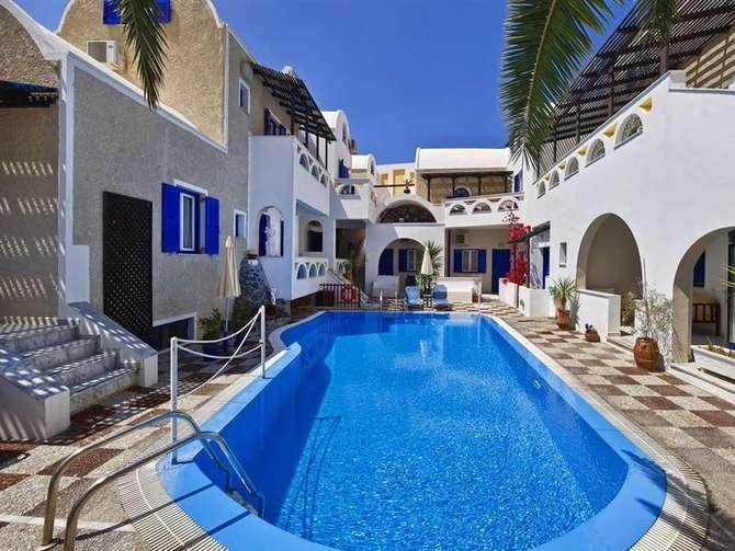 Appartementen Villa Athanasia Perissa