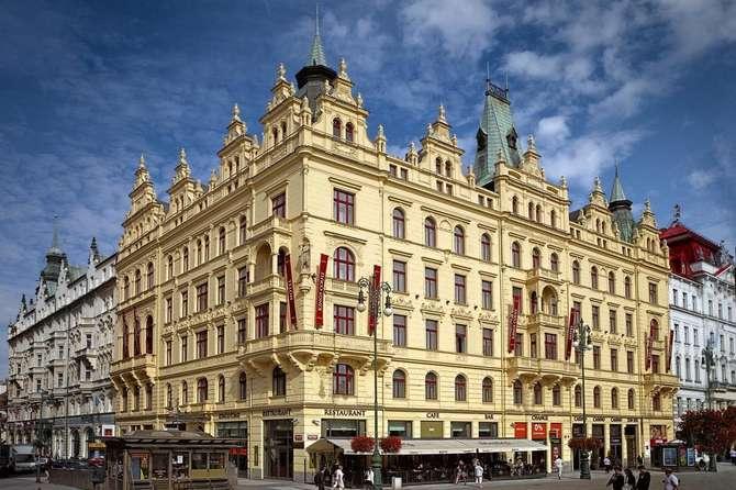 Hotel Kings Court Praag