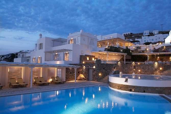 Porto Mykonos Hotel Mykonos-Stad
