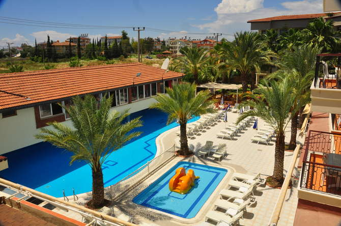 Cinar Family Suite Hotel Side