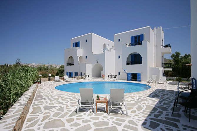 Sunny Beach Studios Naxos-Stad