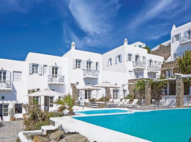 Apanema Hotel Mykonos-Stad