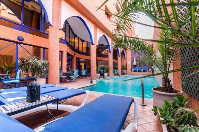 Hotel Trois Palmiers Marrakech