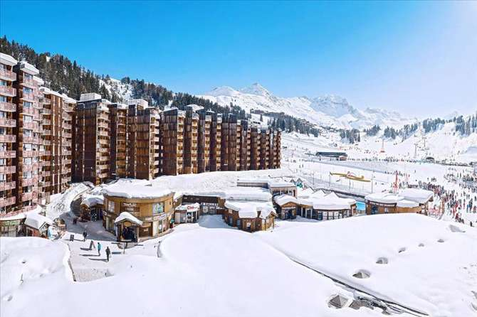 Appartementen in Plagne Bellecote Belle-Plagne