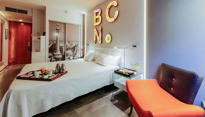 Hotel Evenia Rossello Barcelona