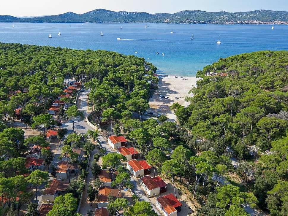 Goedkoop op vakantie Kroatië 🏝️Camping Park Soline