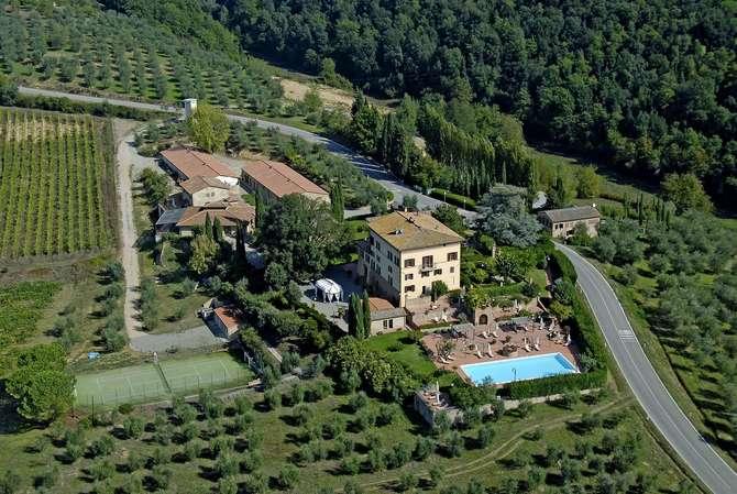 Villa Curina Resort Castelnuovo Berardenga