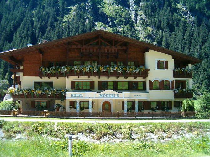 Hotel Moderle Sankt Leonhard im Pitztal