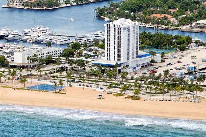 DoubleTree by Hilton Bahia Mar Fort Lauderdale Beach Fort Lauderdale
