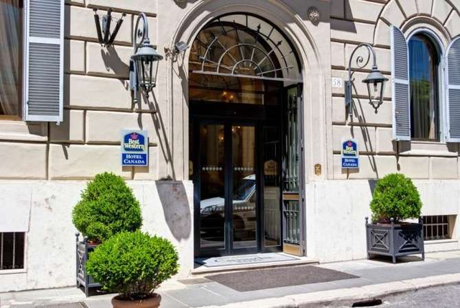 Best Western Hotel Canada Rome