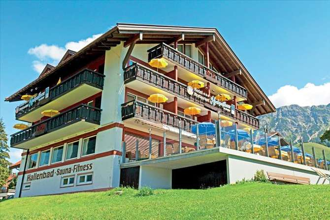 Hotel Hochpasshaus Oberjoch