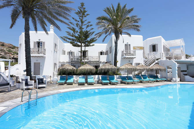 Mykonos Palace Beach Hotel & Greek Luxury Suites Platys Gialos