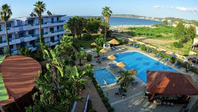 Area Blue Beach Appartementen Trianda (Ialyssos)