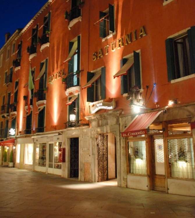 Hotel Saturnia & International Venetië
