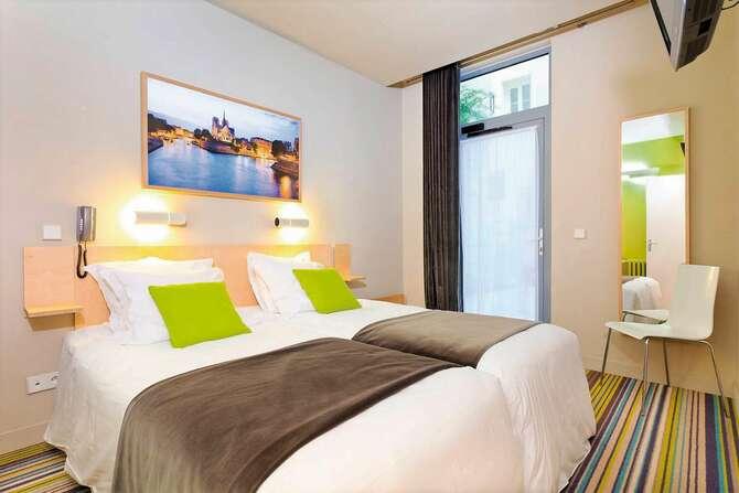 Hotel Glasgow Monceau Parijs